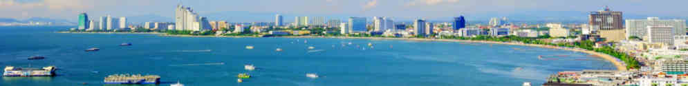 Location studio et appartement à Pattaya